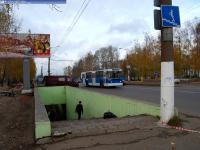 """Подземный переход на остановке """"Восточный поселок"""""""