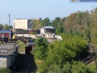 ж/д ветка от вокзала