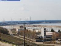 Вид на Чебоксарскую ГЭС и улицу Набережную