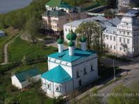 Церковь Михаила Архангела с высоты
