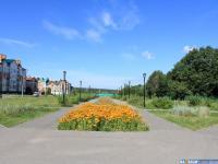 Сквер по улице Ислюкова