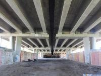 Гаражи под мостом на проспекте Мира