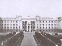 Сквер перед Домом Советов. Конец 40-х гг.