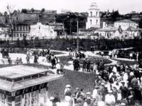 Улица Р.Люксембург и парк им. Крупской. 1935 г.