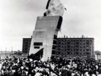 Открытие памятника Чапаеву