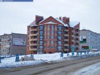 Новый дом на улице Лобачевского