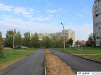Пешеходная дорожка в микрорайоне по ул. Лебедева