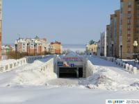 Зима на бульваре Денисова