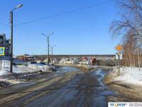 Развилка улиц Лебедева и Талвира
