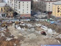 """Строительство ТРЦ """"Икар"""""""