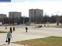 Площадь перед ГЭСстроем