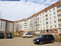 Дом 61 на улице Винокурова (вид со двора)