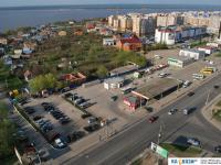 Вид на Новосельскую автостанцию