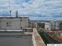 Крыша дома 5 по улице Байдула