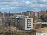Вид на улицы Чапаева и Маршака