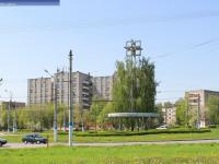 Транспортное кольцо на перекрестке улиц Винокурова и Советская