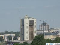 Вид на новый Дом правительства