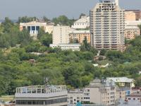 Панорама центра Чебоксар