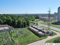 Вид на электростанцию