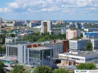 Центр города Чебоксары