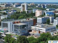 Панорама центра города