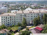 Вид со двора на проспект Ленина 1