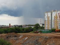 Дождь за Ярмарочным оврагом