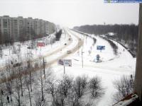 улица Советская зимой