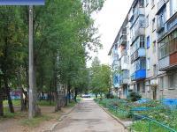 Двор дома 11 на улице Совхозной