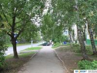 Дорожка вдоль улицы