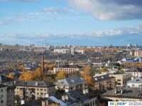 Вид на крыши в центре города