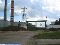 Ворота на Агрегатный завод со стороны Марпосадского шоссе, 2003 год