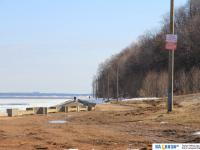 Грязь на Московской набережной