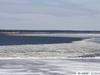 Лед на Волге