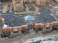Вид сверху на детский сад