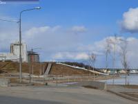 Въезд на набережную Чебоксарского залива