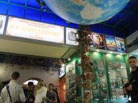 Огромный глобус в музее пива